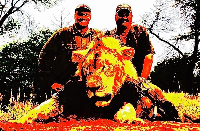 Tandarts+leeuw